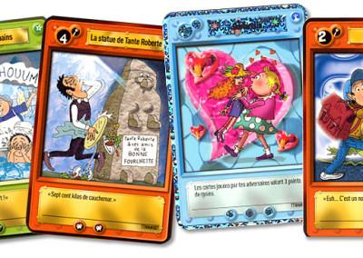 Cartes TomTom et Nana / colorisation