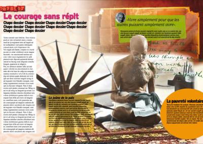 Okapi / Dossier Gandhi
