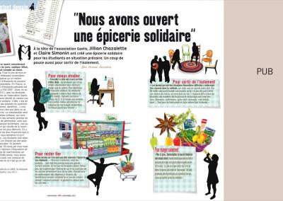 """Phosphore / Rubrique """"ils inventent demain"""" (épicerie Solidaire)"""