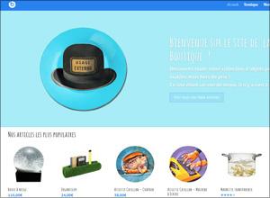 Boutique en ligne (démo)
